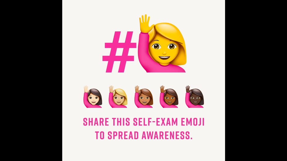 The emoji that wants to save your life
